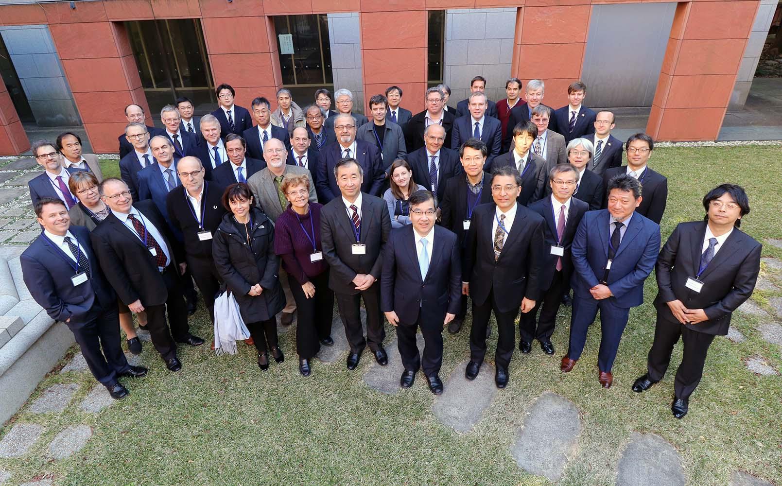 HKFF第一回会議に出席したおよそ50人の関係者